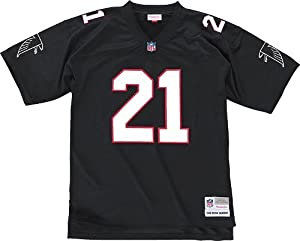 Atlanta Falcons Deion Sanders Premier Throwback Mitchell Ness Replica Black Jersey by Mitchell & Ness