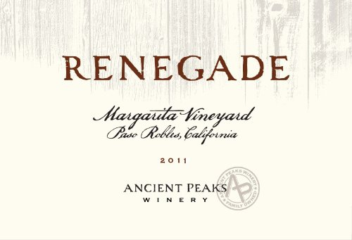 2012 Ancient Peaks Paso Robles Renegade Red Blend 750 Ml