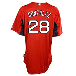 Adrian Gonzalez Boston Red Sox Majestic Authentic Cool Base On Field Batting Practice... by Majestic