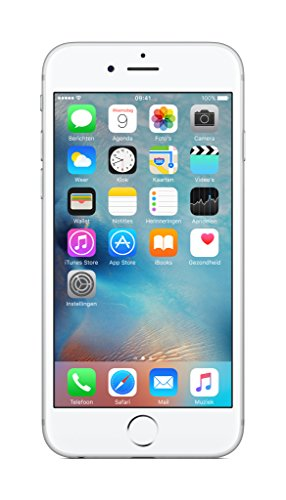 Apple iPhone 6s Smartphone,16 GB, 4G/LTE, Argento