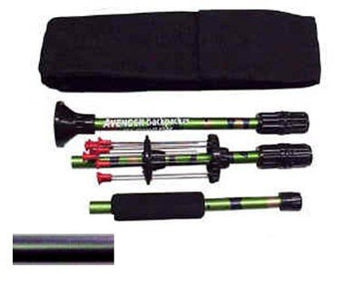 "Buy 36"" Blowgun Backpacker, Collapsing Black .40c Blowgun with 12 Darts Made in USA"