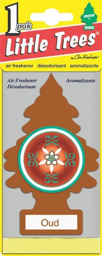 Little Tree Oud Wood Air Freshener