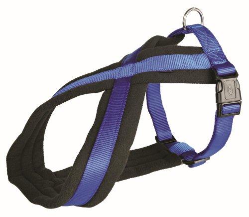 Artikelbild: Trixie 20392 Premium Geschirr, M: 45-70 cm/25 mm, blau