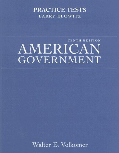 American Government Practice Tests