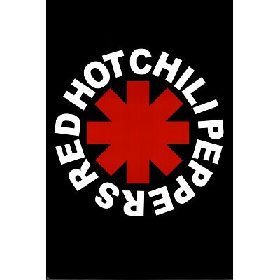 (24x36) Red Hot Chili Peppers (Logo) Music Poster Print