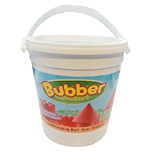 WABA Fun Bubber 5oz Bucket, Red