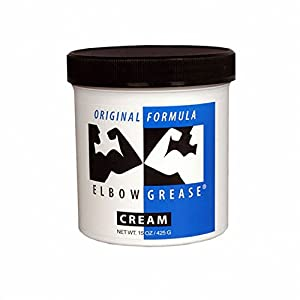 B. Cumming Elbow Grease Original Lubricant Cream, 15-Ounce