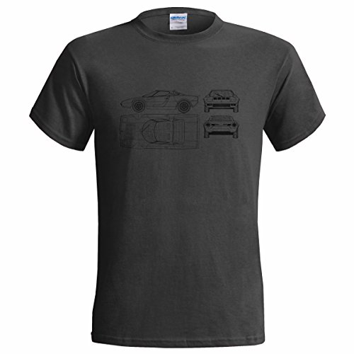 lancia-stratos-blueprint-mens-t-shirt-classic-car-luxury-medium38-40-charcoal