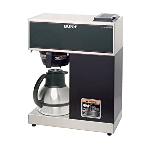 BUNN VPR-TC 12-Cup Pourover Thermal Carafe Coffee Brewer