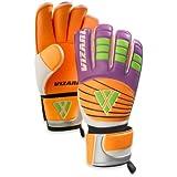 Vizari Sport Sao Paulo Goalkeeper Gloves (Purple/Orange)