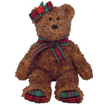 TY Beanie Baby - HAPPY HOLIDAYS the Bear (Hallmark Gold Crown Exclusive) - 1
