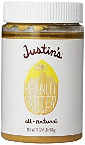 Justin's Nut Butter Honey Classic Peanut Butter, 16 oz