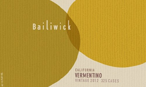 2012 Bailiwick Vermentino California 750 Ml