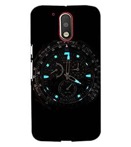 PrintDhaba WATCH SHADE D-6557 Back Case Cover for MOTOROLA MOTO G4 PLUS (Multi-Coloured)
