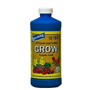Liquinox 10116 10-10-5 All purpose plant Grow liquid fertilizer, 16-Ounce