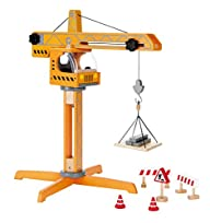 Hape – Playscapes – Crane Lift Wooden…