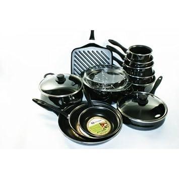 Silargan Induction Black grand pot Silit Modesto noir casseroles 4 T
