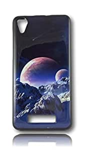 BlueArmor Soft Back Cover Case For Lava P7 Design 29