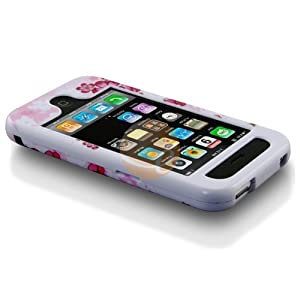 Spring Flower Clip-on Case for Apple iPhone 3GS 16GB / 32GB