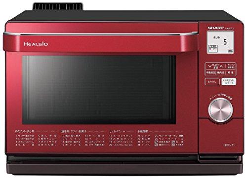 SHARP ウォーターオーブン「ヘルシオ」 18L レッド系 AX-CA1-R