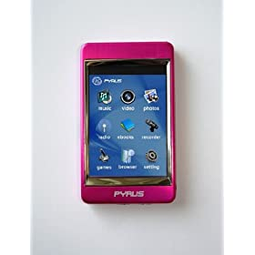 Exclusive Offer From Pro Ebiz Llc: Pe 8gb Mp3/mp4/mp5 Player with 2.8 Inch Touch Screen and All Stainless Steel Casing