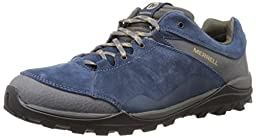 Merrell Men\'s Fraxion Hiking Shoe,Navy,9.5 M US