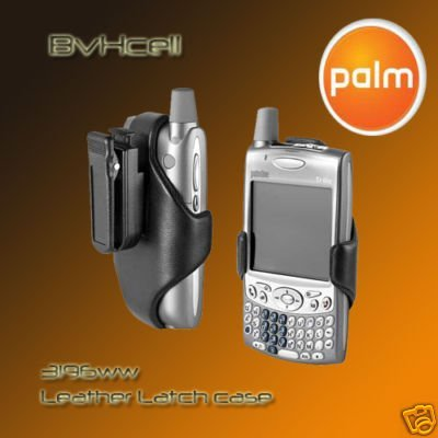 Palm Leather Latch Case for Treo 650 & 600
