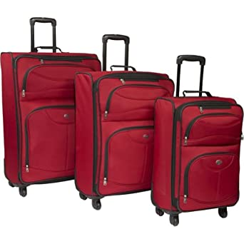 Click to buy Light Weight Luggage: American Tourister Unisex - Adult Spring Ranch 3 Piece Spinner Setfrom Amazon!
