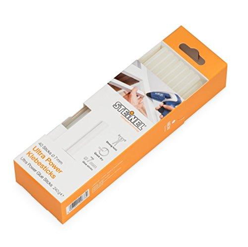 steinel-batons-de-colle-diam-7-mm-ultra-power-stylo-a-colle-chaude-cristal-cartouche-a-colle-chaude-