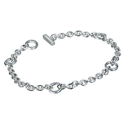 Hot Diamonds 0.01 Carat Diamond Charm Bracelet in Sterling Silver
