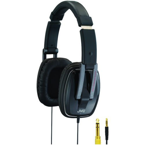 Read About JVC HAM750 Monitor Stereo DJ Style Headphones