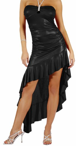Strapless Cocktail Dress Rhinestone Evening Prom Party Gown