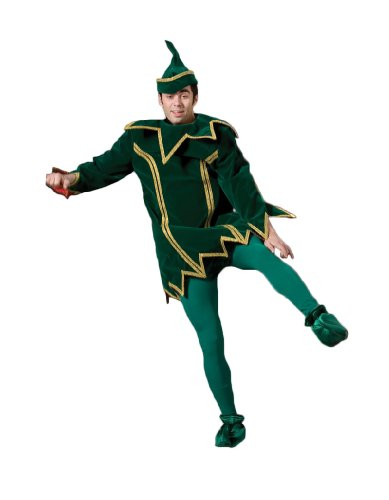 Men's Elf Xmas Theater Costume