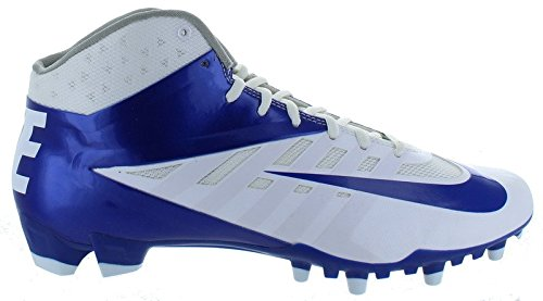New! NIKE Vapor Pro 3/4 TD PF Football Cleats - Royal Blue & White Football Shoes - Size 14 (Nike Vapor Shirt compare prices)
