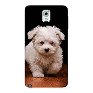 Special Cute Walking Dog Back Case Cover for Galaxy Note 3