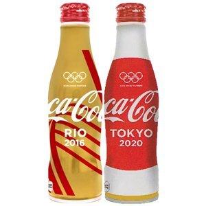 コカ・コーラ リオ・東京オリンピック限定デザイン スリムボトル缶 1ケース(250ml×30本)