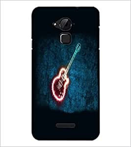 PrintDhaba Digital Guitar D-4782 Back Case Cover for COOLPAD NOTE 3 LITE (Multi-Coloured)