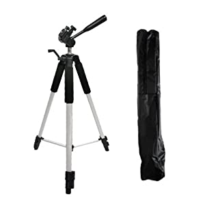 72 inch Tripod w/Case For The Nikon Df, D7200, D5300, D3300, D5200, D3200, D3X, D3S, D700, D300S, D7000 D90 D5100 D800 D800E D810 D600 D610, D7100, D750 DSLR and Blackmagic Pocket Cinema Camera + More