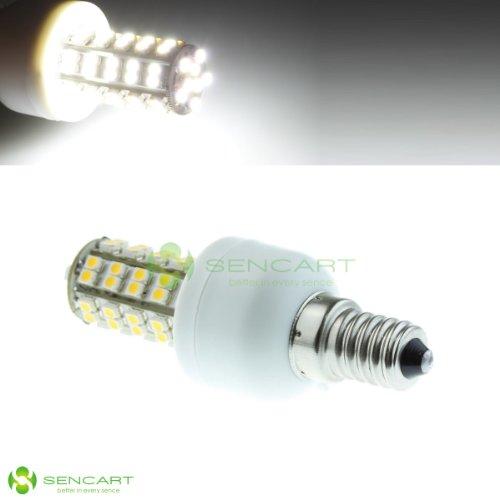 E14 Led 68-Smd 3528 Leds 85~265V/4W 6000K White Lights Bulb Candle Lamp