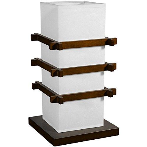 Oriental Furniture Best Good Great Discount Bargain Price Value Deal Gift Ideas 2011, Ido Zen Design Wood And Paper Lantern Lamp, Walnut front-1002600