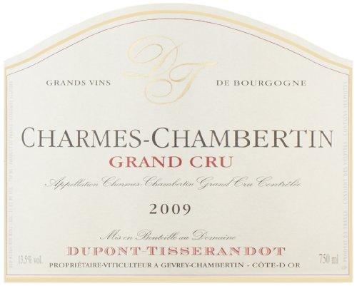 2009 Domaine Dupont-Tisserandot Charmes Chambertin Grand Cru 750 Ml