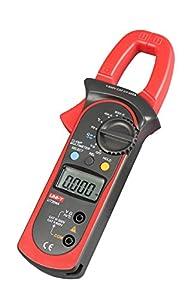 ZIBOO UNI-T ZB-UT204A Digital Handheld Clamp Multimeter Tester DMM Voltmeter Amp AC DC
