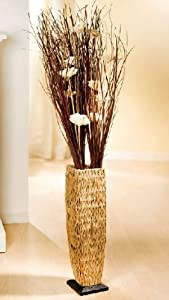 deko vase wasserhyazinthe k che haushalt. Black Bedroom Furniture Sets. Home Design Ideas
