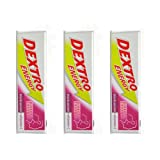 Dextro Energy Glucose Tablets Blackcurrant+Vitamin C 14's-PACK OF 3