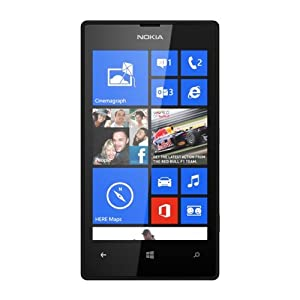 Nokia Lumia Black 520 Sim Free 8 GB