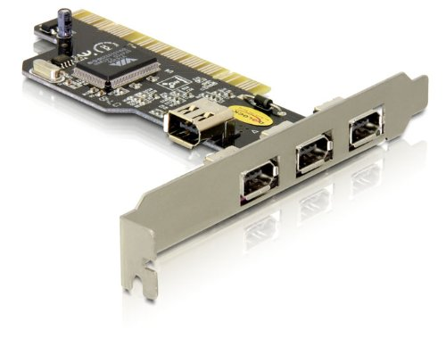 Delock FireWire PCI Karte 3+1 Port