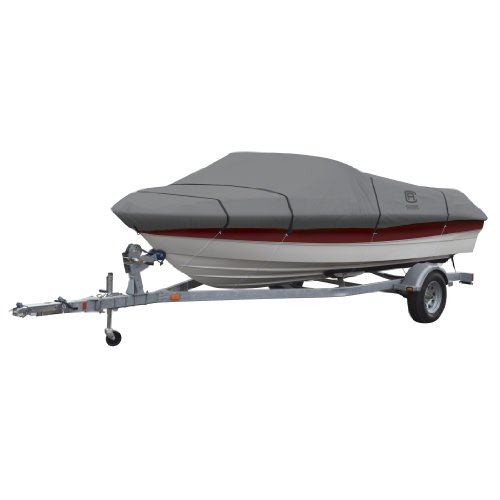 Classic Accessories Model D Lunex RS-1 Boat Cover, Grey