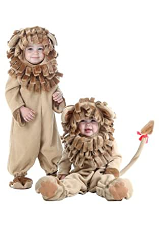 Little Boys' Deluxe Toddler Lion Costume