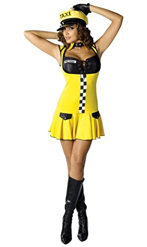 Sexy Cabbie Costume - Adult Costume