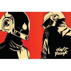 Amazon.com: Daft Punk - Posters - Domestic: Prints: Posters & Prints